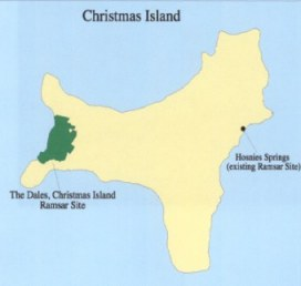 Where Is Christmas Island On A Map.Australia Designates Six New Sites And Extends Another Ramsar