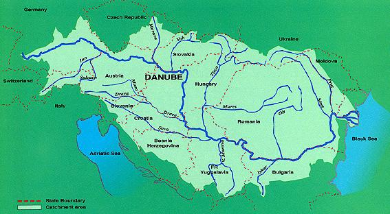 New Ecological Expert Group Launched For Ramsar Management In - Danube river on world map