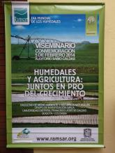 World Wetlands Day 2014 Colombia Poster