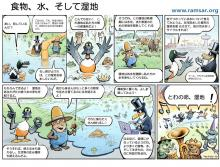World Wetlands Day 2014 Japan Cartoon