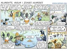 World Wetlands Day 2014 Spain Cartoon